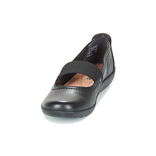 CLARKS Clarks Womens Shoe Medora Ally Black Leather