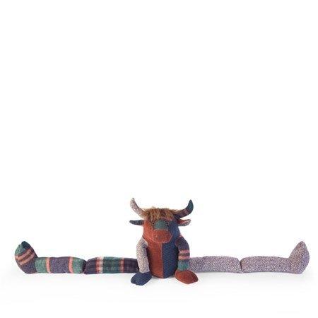 Dora Designs Patchwork Highland Cow Senior Draught Excluder: Amazon ...