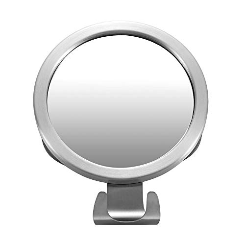 Fogless Shower Mirror,Fog-Free Bathroom Mirror with Razor Hook and Powerful Lock -