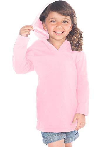 Kavio! Toddlers Long Sleeve Pullover Hoodie Baby Pink 3T