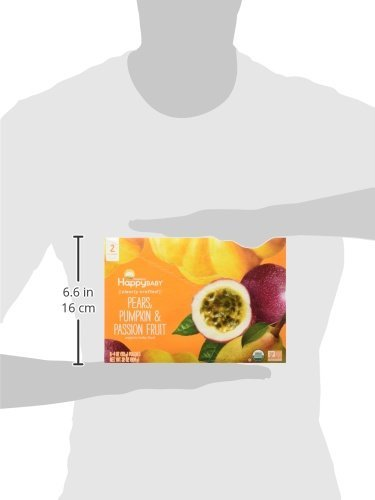 Happy Baby Stage 2 - Pears, Pumpkin & Passion Fruit - 4 oz, 8 ct by Happy Baby (Image #5)