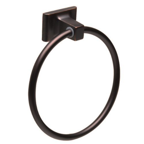 Oil Rubbed Bronze Bathroom Wall-Mount Towel Ring