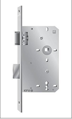 KFV muy fino puerta de la habitación-cerradura de embutir BB ...