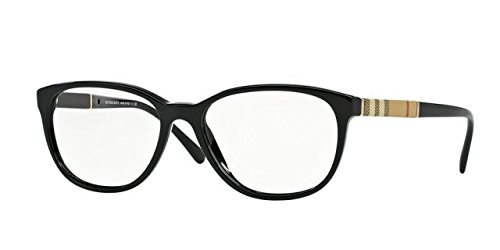 Burberry Women's BE2172 Eyeglasses Black - Burberry Womens Eyeglasses