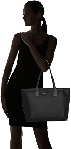 De Para Piquadro Tela Piel Negro Mujer Bolso BnSRaZ