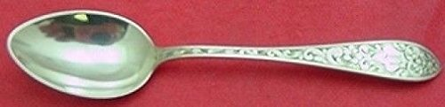 Colonial B Engraved by Whiting Sterling Demitasse Spoon ()
