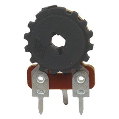 Trimmer 0.25 (Jameco Valuepro 158-50K-R Vertical Mount Trimmer Potentiometer, 350 VDC, 1/4W, 50K Ohm, 19/32