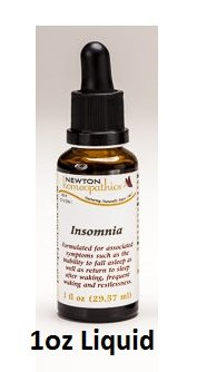 Newton Labs Homeopathics Remedy Insomnia 1oz Liquid (2 Pack) by Newton Homeopathics (Image #1)