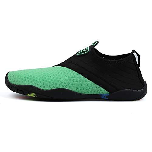 (Bravetoshop Barefoot Shoes Quick Dry Aqua Socks for Beach Swim Yoga Exercise Water)