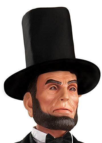 Forum Novelties President Abraham Lincoln Deluxe Latex Character Mask with Hat