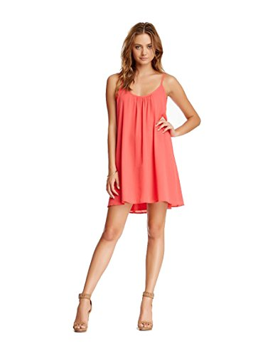 Mini Trapeze Mizani Coral XS Women's Donna Dress in tgqpwg