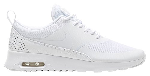 Nike Women's Air Max Thea White/White White Running Shoe 7.5 Women US