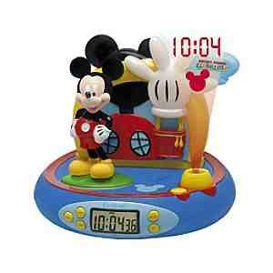 Mickey Mouse Clubhouse Alarm Clock Projector Amazon Co Uk