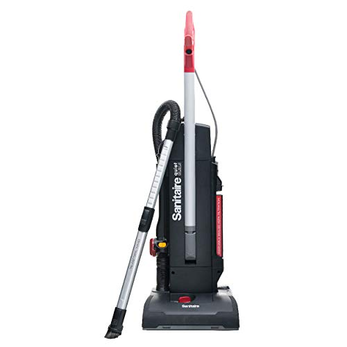 - Sanitaire Multi-Surface QuietClean Upright Commercial Vacuum, SC9180B