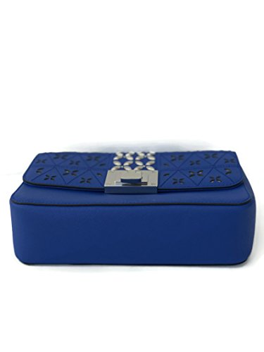 a73990d34cee Michael Kors Tina Flora leather Crossbody Shoulder Bag