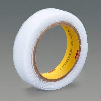 3M(TM) Fastener SJ3531 Loop S030 Black, 3/4 in x 50 yd 0.15 in Engaged Thickness, 4 per case Bulk ()