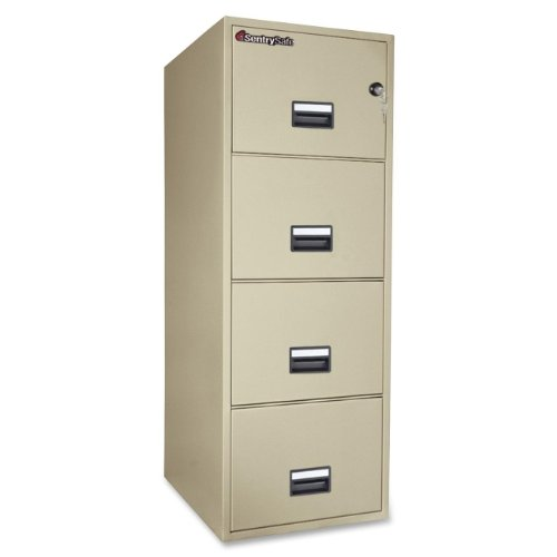 Sentry Vertical File Cabinet - 8