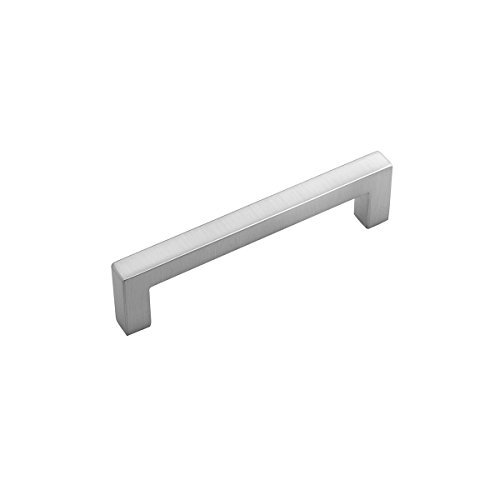 Hickory Hardware HH075327-SS-10B Skylight Collection Pull 3-3/4 Inch (96mm) Hole Center, Center to Center, Stainless Steel, 10 Each