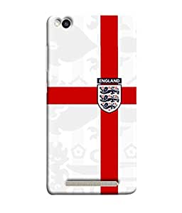 ColorKing Football England 18 White shell case cover for Xiaomi Redmi 5A