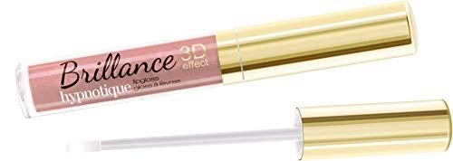 VIVIENNE SABO BRILLANCE HYPNOTIQUE 3D-Effect Lip Gloss 3ml Diamond Sparkle Lips 37 Rose Beige