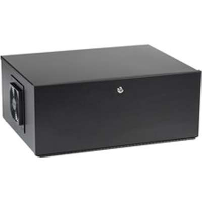 Black Box LCKBOX4U 4U Wallmount DVR Lockbox with Fan