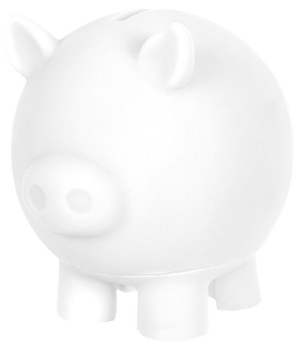Rose Art Color Blanks Create Your Own Piggy Bank