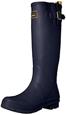 Joules Women's Field Welly Rain Boot, French Navy, 5 M US