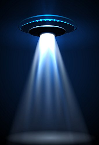 - AOFOTO 3x5ft UFO Backdrop Flying Saucer Photography Background Science Fiction Alien Invasion Spacecraft Kid Boy Child Artistic Portrait Photo Shoot Studio Props Video Drop Vinyl Wallpaper Drape
