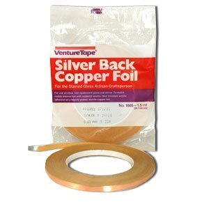 Foil Venture Copper (Venture Tape 7/32 Silver Backed Foil - 1.5 Mil)