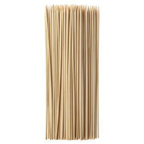 200 X 30 cm / 12 inches food grade Wooden Bamboo BBQ Skewers perfect for fondue and chocolate fountains. wecansourceitltd®