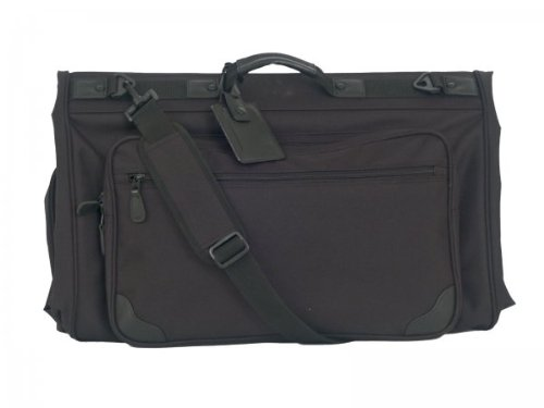 (Tri-fold Garment Bag (Black) (45