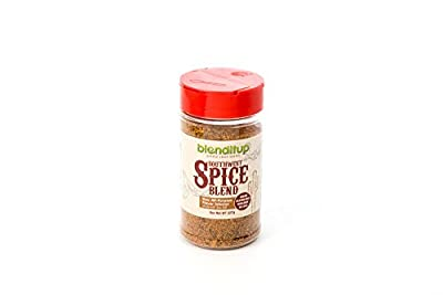 Southwest Spice Blend All Purpose Seasoning - Gourmet Spices with Chili Pepper, Garlic, Onion, Cumin and Sea Salt - Healthy to Add to Any Dish | Low Sodium, No Gluten, No MSG or GMOs | by BlendItUp