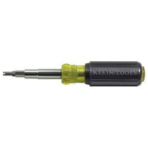 Klein Tools 32527 12-in-1 Screwdriver/Nut Driver with Schrader Valve Core Bit ;(from_eio-electronicinventoryonline