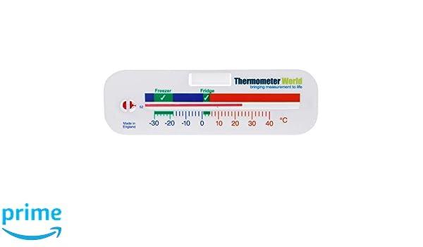 Termómetro de frigorífico y congelador, medidor de temperatura ...