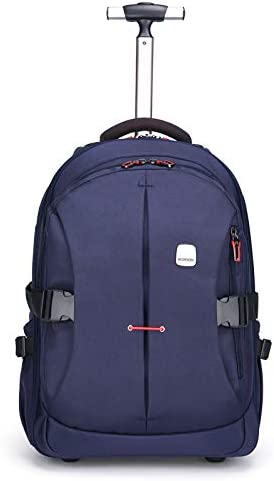 19 inches Laptop Travel Rolling Backpack Waterproof Wheeled