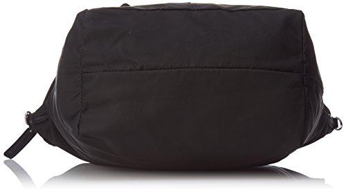 Lacoste L1212 Concept Nylon, Borsa a tracolla donna nero nero