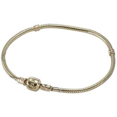 Pandora 14 Carat Gold 50cm Necklet 550703 50 Amazoncouk Jewellery