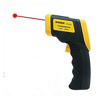 DT8750 Non Contact IR Infrared Digital Temperature Gun Thermometer Laser -50 to 750 Degree termometro