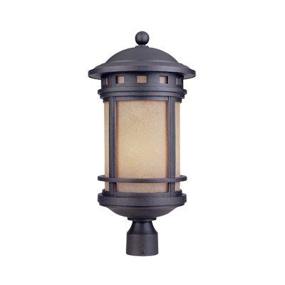 Sedona 11'' Post Lantern by Designers Fountain 2396-AM-ORB in Bronze Finish