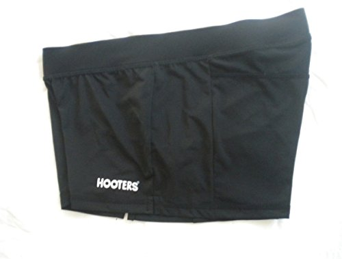 Hooters Girl Sexy & Stretchy Uniform Black Shorts Florida Medium Halloween -