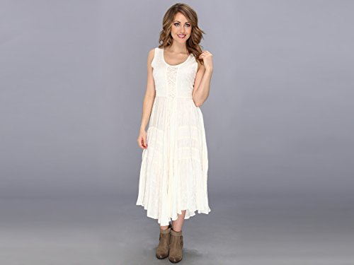 Scully Women's Honey Creek Amelie Dress Ivory Small ()