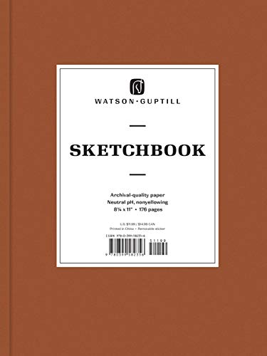 Large Sketchbook (Chestnut Brown) (Watson-Guptill Sketchbooks)
