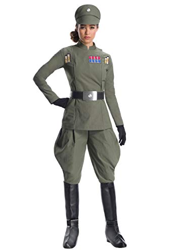 Charades Star Wars Imperial Officer Women's Costume, As Shown, Small (Star Wars Imperial Uniform)