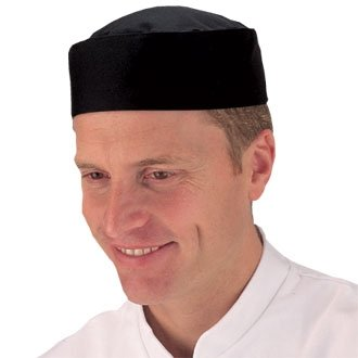eef5d88fd0b Kitchen Cooking Skull Cap Black (Polycotton) - Size S - Great for  increasing hygiene levels in your kitchen  Amazon.co.uk  Kitchen   Home