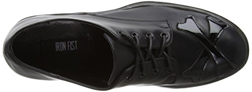 Iron Fist Hey You Guys Cleated Sole Flat - Plataforma Mujer Black (Black)