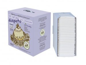 Broody Chick 100% Natural Fully Compostable Diapers - 1