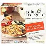 Dr Praegers, Hash Browns Four Potato, 1.13 Ounce, 8 Pack