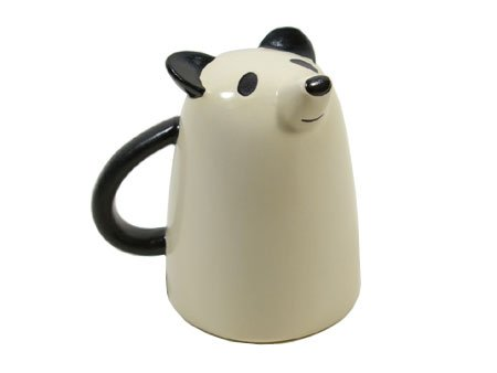 Decole Animal Face Mug - (Panda Face Mug)