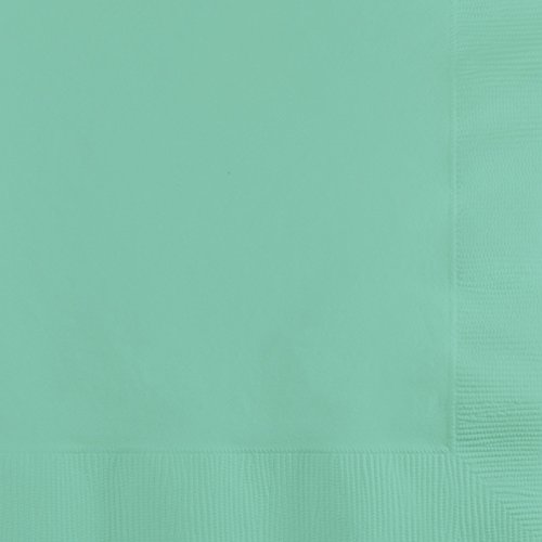 Creative Converting 318890 Party Lunch Napkins, Fresh Mint