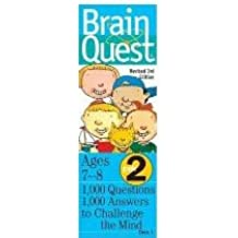 Brain Quest: Deck One (2nd Grade) (1000 Questions & Answers to Challenge the Mind, Ages 7-8) (Cards)